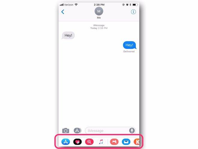 Mách nước khai thác những tính năng mới của iMessage trên iOS 11 - 2