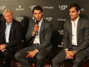 """Federer nóng lòng """"kết đôi"""" Nadal ở Laver Cup: Tiết lộ lý do bất ngờ"""