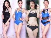 Thời trang - 10 thí sinh nuột nà nhất Bán kết Hoa hậu Hoàn vũ VN