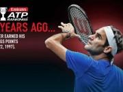 """Federer 20 năm trước: Đàn chị """"đưa vào đời"""", hạng 803 thế giới"""
