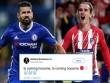 "Diego Costa về Atletico giá ""khủng"", triệu fan MU ""hóng"" Griezmann"