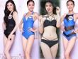 10 thí sinh nuột nà nhất Bán kết Hoa hậu Hoàn vũ VN