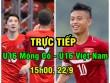 TRỰC TIẾP U16 Mông Cổ - U16 Việt Nam: Quả phạt đền, nhân đôi cách biệt