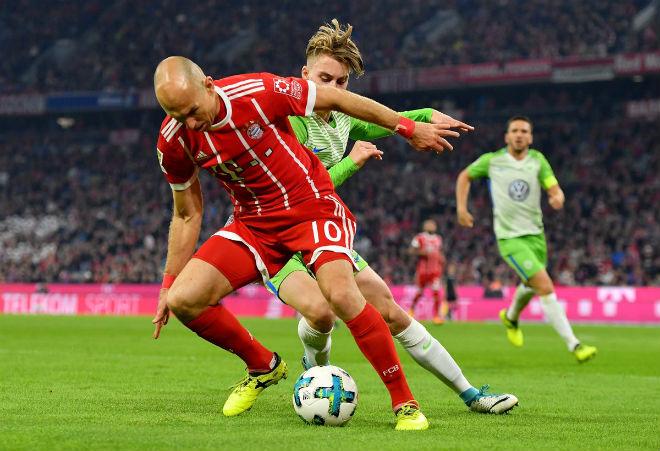 Bayern Munich - Wolfsburg: Điên rồ màn ngược dòng mãn nhãn - 1