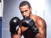 """Học """"thần thủ"""" Mayweather, Rio Ferdinand luyện chiêu boxing độc"""