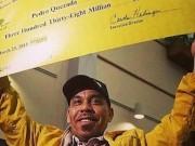 Nguy cơ đi tù 40 năm sau khi nhận giải độc đắc 338 triệu USD