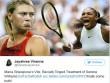 """Sharapova đả động """"chuyện tế nhị"""", Serena xỉa xói đáp trả"""