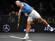 Laver Cup: Nadal thắng sát nút, đội châu Âu tiếp tục áp đảo