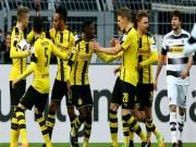 "Dortmund - Gladbach: ""Hủy diệt"" bằng set tennis"