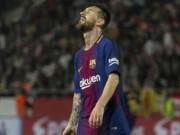 """Messi hóa """"mèo ngoan"""" bất thường trước """"sân sau"""" Man City"""