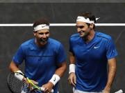 """Laver Cup: Federer & Nadal """"song kiếm hợp bích"""" vẫn thắng nhọc"""
