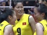 Bóng chuyền nữ Việt Nam - Iran: Khởi đầu chậm chạp, hạ màn tưng bừng (Vòng loại World Cup)