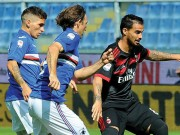 Sampdoria - Milan: 20 phút, 2 cú đấm choáng váng