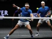 Laver Cup: Nadal bại trận, nhờ cậy Federer