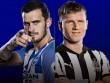 TRỰC TIẾP Brighton - Newcastle: Phối hợp đá phạt hoàn hảo