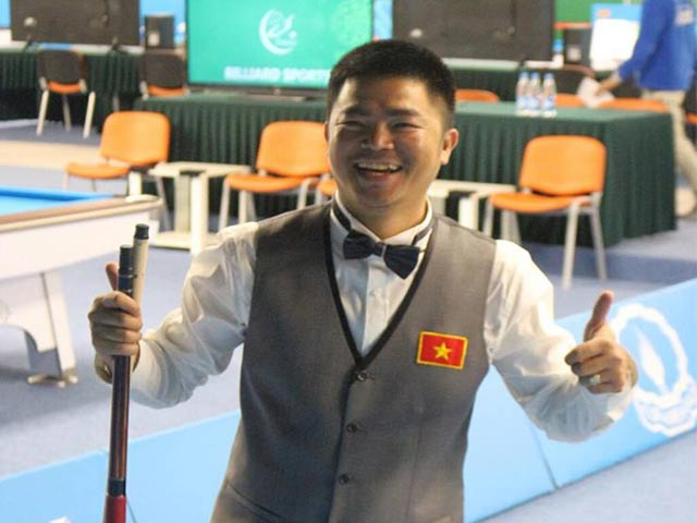 Bi-a: Quốc Nguyện xuất thần hạ nhà vô địch thế giới, đoạt Vàng châu Á