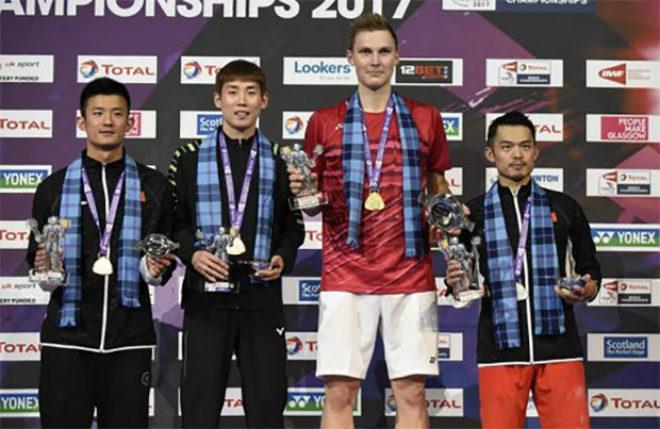"""""""Siêu nhân"""" cầu lông: Hạ bốn số 1 thế giới, Lee Chong Wei - Lin Dan ôm hận - 2"""