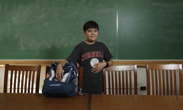 Thần đồng trẻ tuổi nhất gia nhập hệ thống giáo dục hàng đầu nước Mỹ - 1