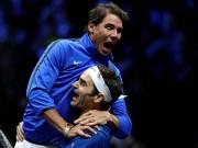 Laver Cup: Federer ngược dòng, cùng Nadal đoạt chức vô địch