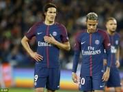 """""""Biến"""" căng nhà giàu PSG: Chê tiền, Cavani không nhường Neymar 11m"""