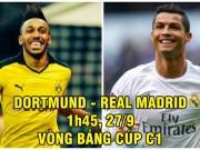 """Dortmund – Real Madrid: Chờ Ronaldo hóa """"siêu nhân"""" đấu """"người Dơi"""""""