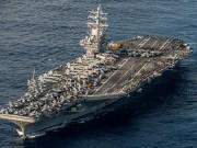 """Siêu tàu sân bay Mỹ sắp """"tiến vào vùng biển Triều Tiên""""?"""