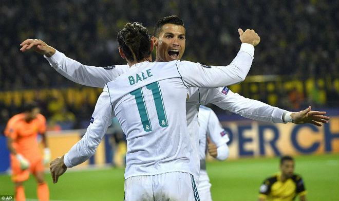 "Góc chiến thuật Dortmund - Real Madrid: Ronaldo hay, Bale ""ngon"" nhất - 2"