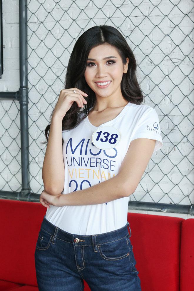 """Vẻ hút hồn của 15 """"bông hoa"""" lọt top 70 Hoa hậu Hoàn vũ VN - 8"""