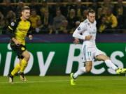 TRỰC TIẾP Dortmund - Real Madrid:  Ronaldo lập cú đúp