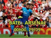 """Bóng đá - BATE Borisov- Arsenal: """"Pháo"""" nổ vang trời, góp vui Ngoại hạng Anh"""