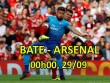 """BATE Borisov- Arsenal: """"Pháo"""" nổ vang trời, góp vui Ngoại hạng Anh"""