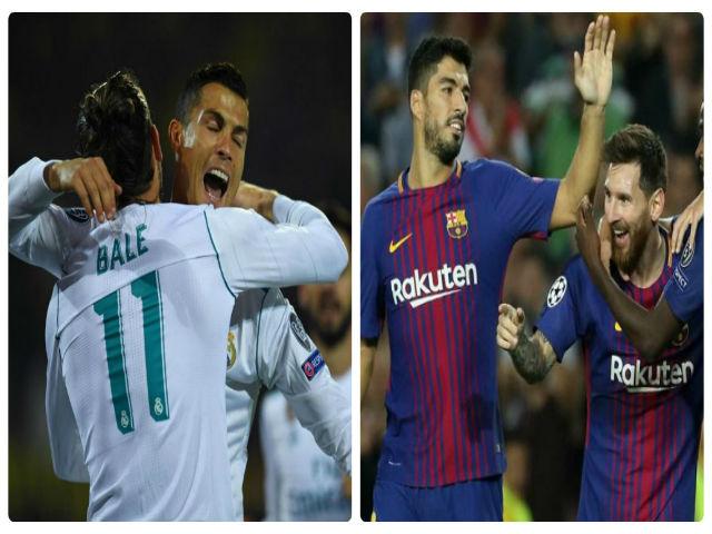 """Liga trước vòng 7: Real, Barca lo nơm nớp vì tuần """"hành xác"""""""