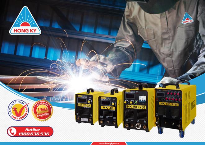 Hồng Ký đẩy mạnh dòng máy hàn điện tử công suất lớn, hiện đại - 1