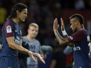 """Bóng đá - Cuộc chiến nhà giàu PSG: Cavani nói lời yêu thương, Neymar """"xiêu lòng"""""""