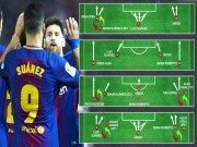 Bóng đá - Barca mất Neymar, Dembele: Valverde thiên biến vạn hóa cùng Messi