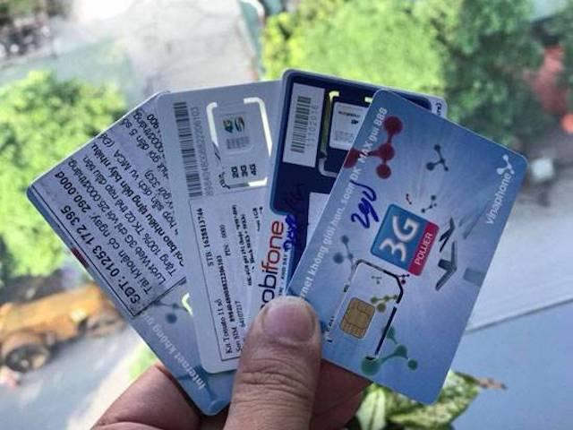 SIM trả trước tài khoản khủng kích hoạt sẵn đang tái chiếm thị trường