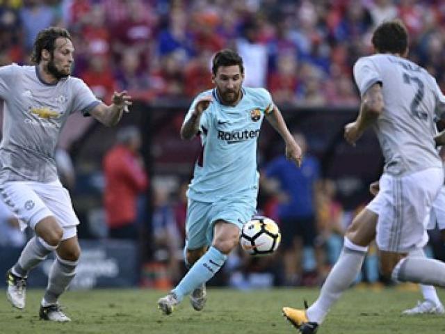 Barca có thể đấu MU, Chelsea ở… giải Ngoại hạng Anh