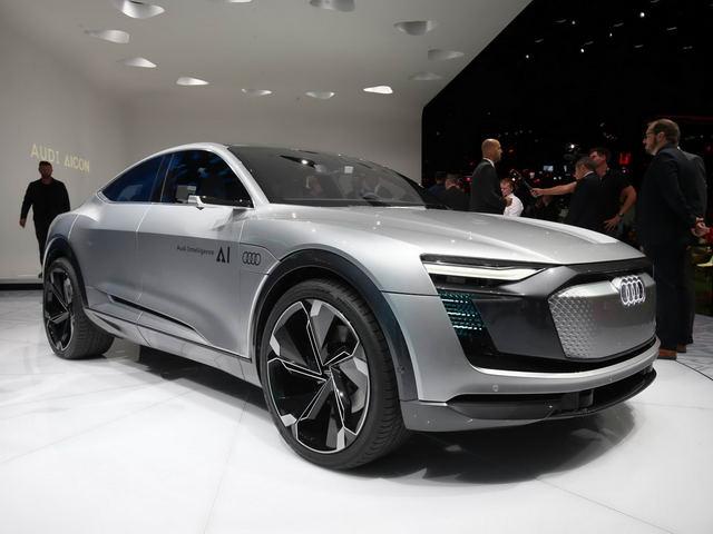 Audi Elaine: Ý tưởng xe tự lái độc đáo - 1