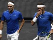 """Thể thao - Đua số 1: Federer dồn sức cuối năm, chơi """"hư chiêu"""" với Nadal"""