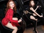 """Hoàng Thùy Linh xứng danh  """" đệ nhất mỹ nữ """"  với khoảnh khắc xuống xe siêu đẹp"""