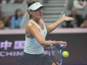 Thể thao - Sharapova - Sevastova: Siêu kịch tính 3 tiếng, 2 màn đấu súng (Vòng 1 China Open)