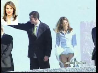 Công nương Tây Ban Nha 'khổ nạn' vì tốc váy - 1