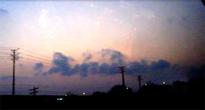 Đám mây rồng xuất hiện ngày khai mạc Đại lễ - 1