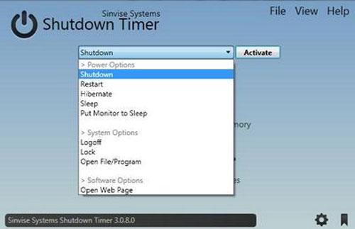 Tự động thực hiện công việc với Shutdown Timer - 1