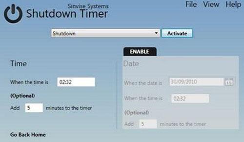 Tự động thực hiện công việc với Shutdown Timer - 2