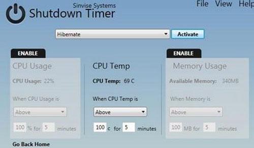 Tự động thực hiện công việc với Shutdown Timer - 4