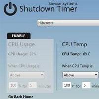 Tự động thực hiện công việc với Shutdown Timer