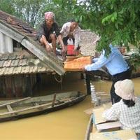 Đỉnh lũ tại Quảng Bình (tin HOT 5/10)