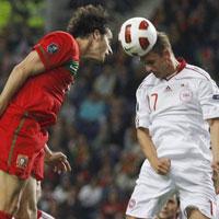 Video trận Bồ Đào Nha - Đan Mạch: Song kiếm Ronaldo - Nani