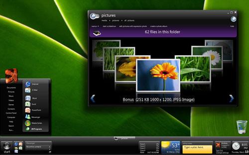 """Đổi màn hình """"đón khách"""" trong Windows 7 - 1"""